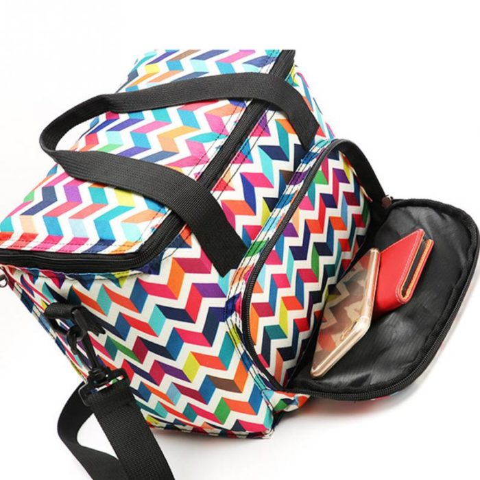 Lunch Box with Shoulder Strap