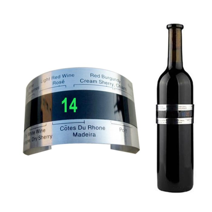 Clip-On LED Wine Thermometer