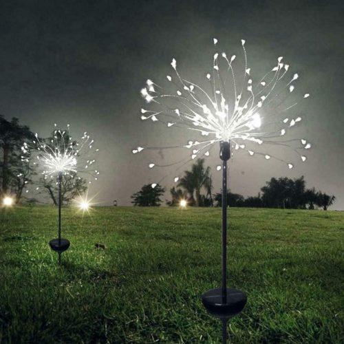 Dandelion Solar Light Garden Decoration
