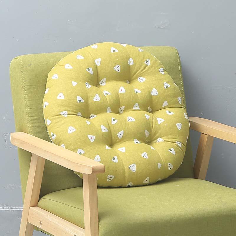 Japan Cattail Hassock Chair Seat Cushion Pad Round Thickened Tatami Prayer Mat Pouf Futon