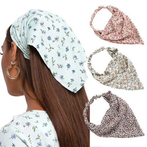 Bandana Hair Wrap Head Piece