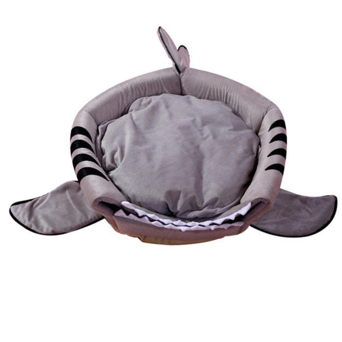 Dog Shark Bed Pet Sleeping Cave