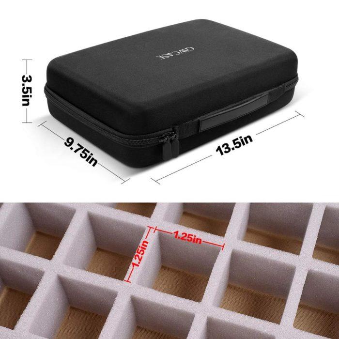 40-Grid Portable Nail Polish Organizer