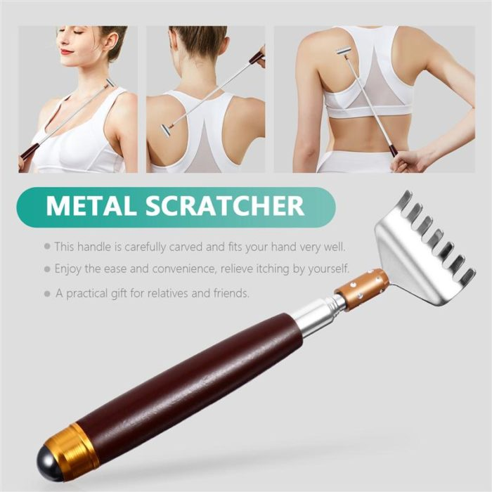 Stainless Retractable Back Scratcher