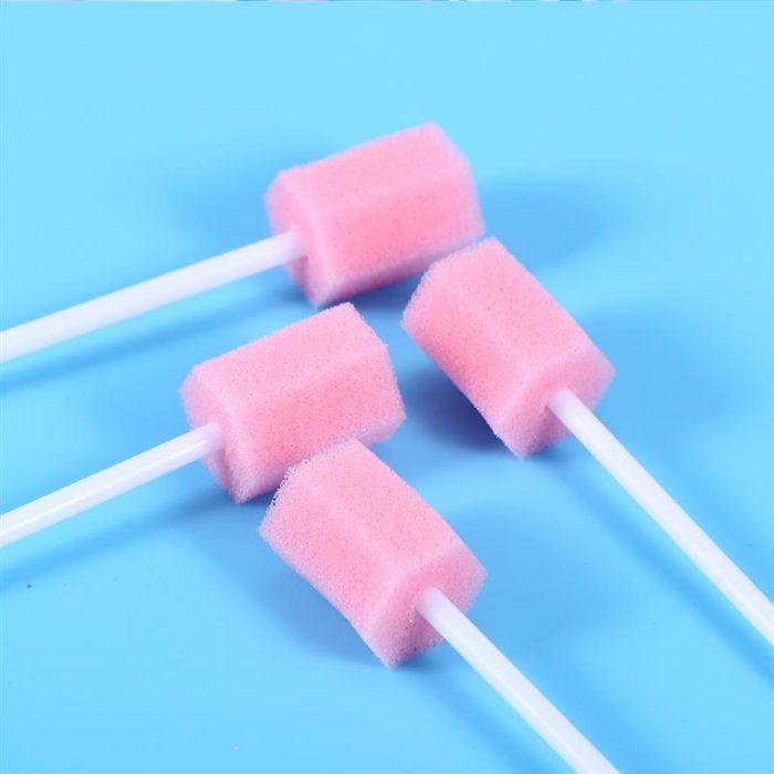 Disposable Oral Sponge Swabs (100pcs)