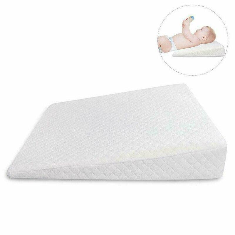 PUDCOCO Hot Newborn Baby Sleep Pillow Anti Baby Spit Milk Crib Cot Sleep Positioning Wedge Anti-Reflux Cushion Cotton Pad Mat