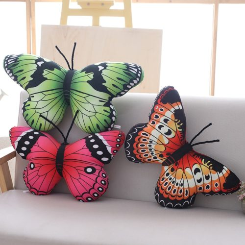 Stuffed Butterfly Home Sofa Decoration