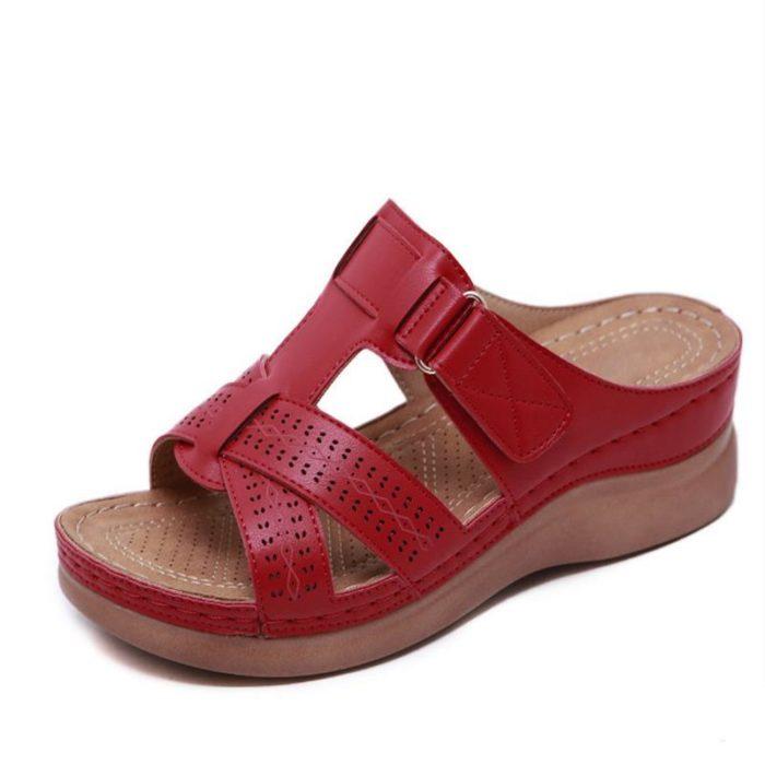 Open Toe Women's Buckle Sandals