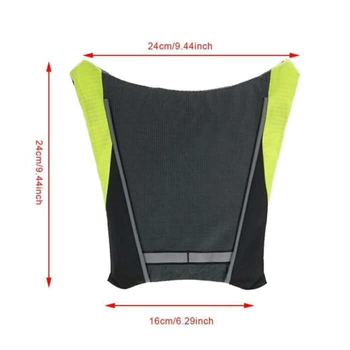 Remote Control Reflective Bike Vest with Signal