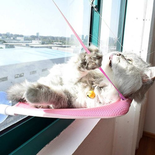 Window Cat Bed Suction Cup Hammock