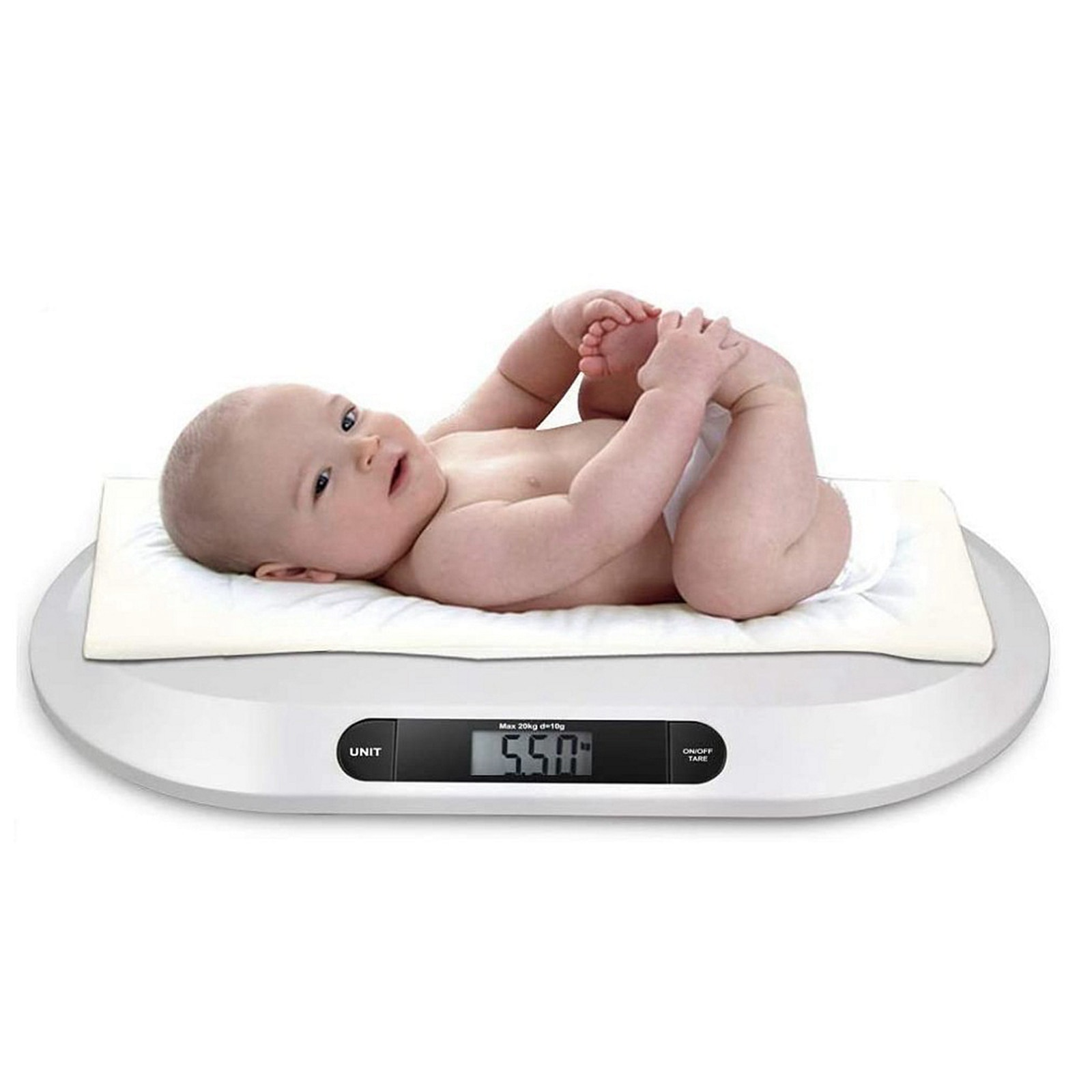 Digital Baby Scale Infant Pet Dog Small Pets Weighing Scales Max 20kg /44lb