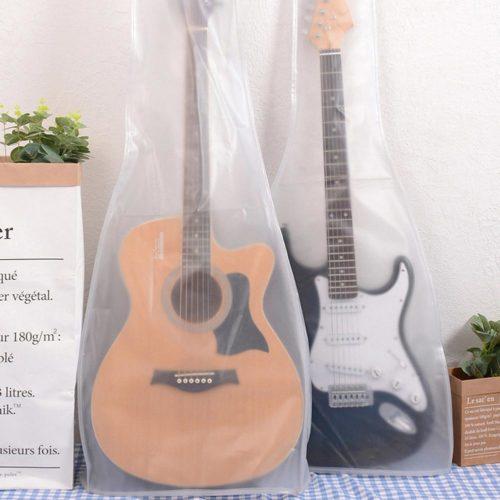 Transparent PVC Guitar Dust Cover