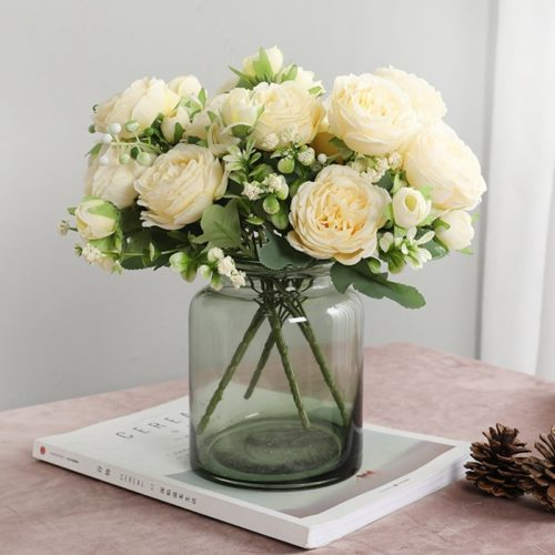 Fake Silk Flowers for Decoration
