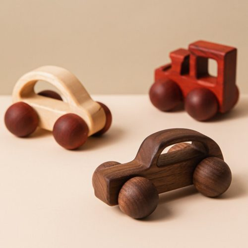 Wooden Car Toy Early Educational Baby Toy