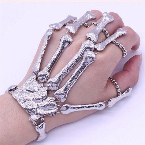 Hand Skeleton Bracelet Punk Accessory