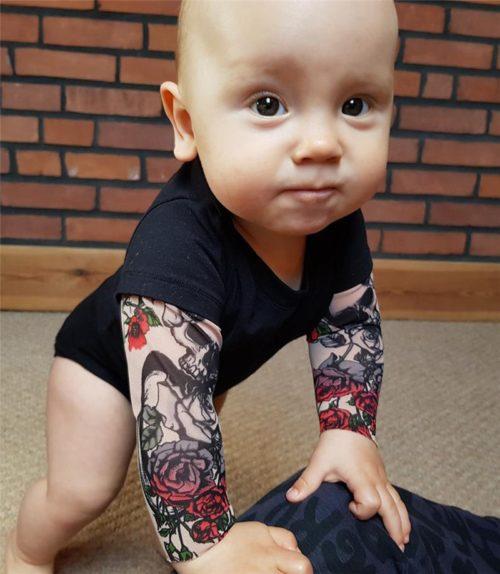 Tattoo Sleeve Onesie Babywear