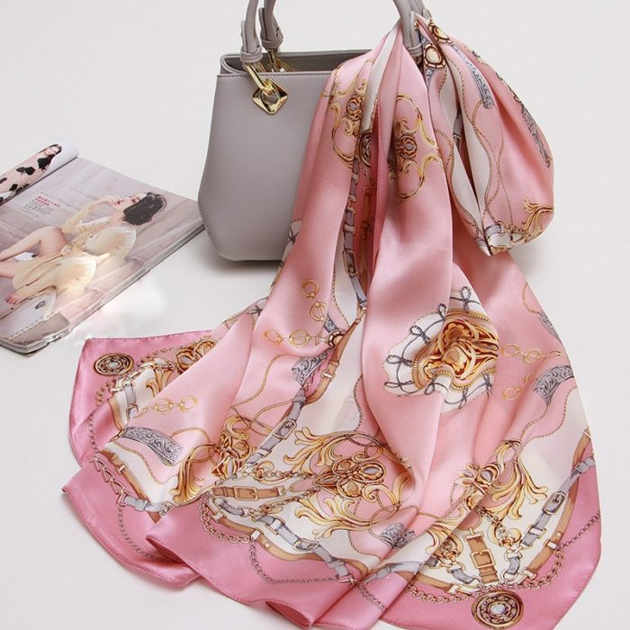 Natural Silk Ladies Scarf Bandana