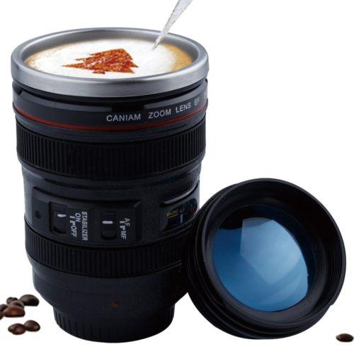 Camera Lens Coffee Cup Creative Mug
