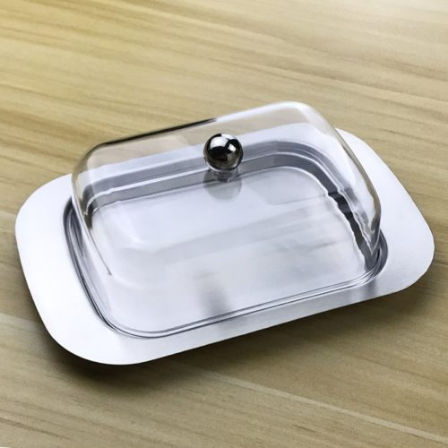 Butter Tray with Lid Cheese Container