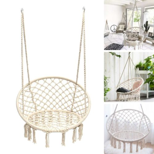 Nordic Cotton Rope Chair Swing