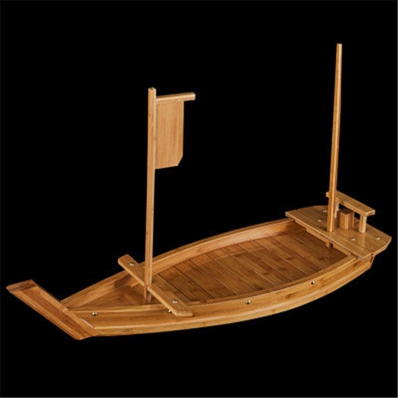 Japanese Cuisine Sushi Boats, Sushi Tools, Handmade Wooden Boat Model, Simple Sashimi Shipping, Assorted