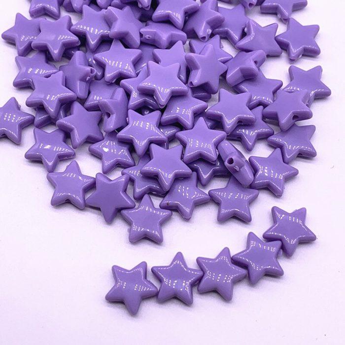 Star Beads Acrylic DIY Accessories (50 Pcs)