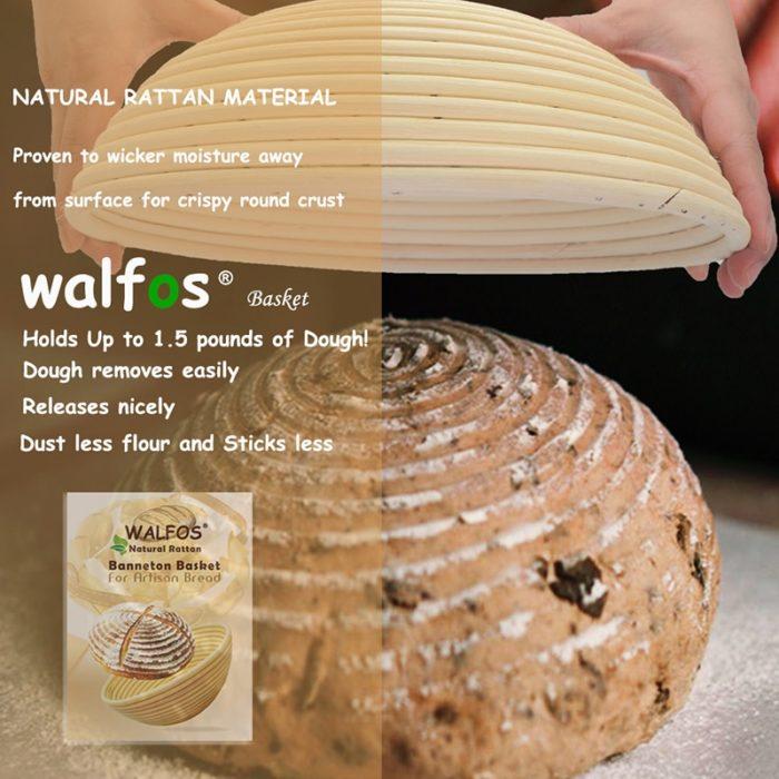 Rattan Bread Basket Dough Holder