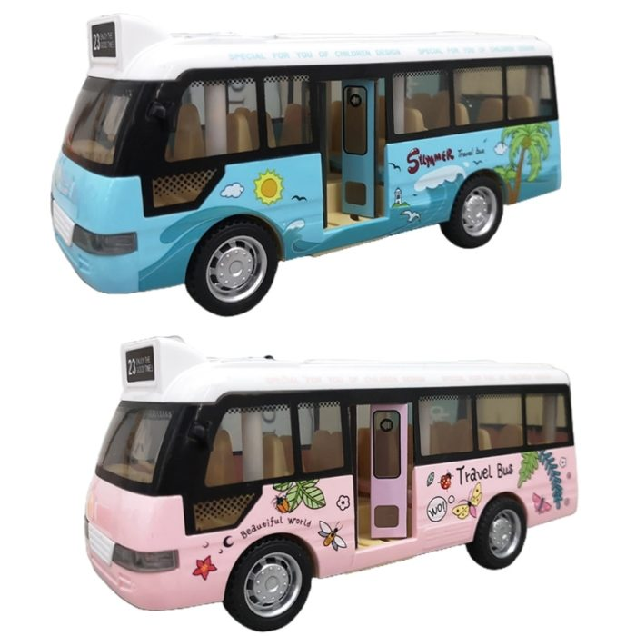Toy Bus with Lights and Sound