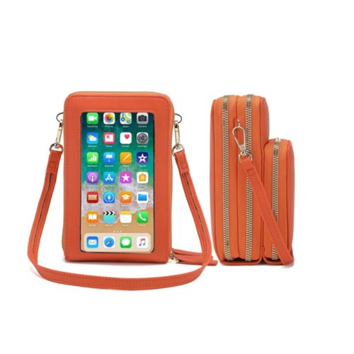Cell Phone Purse with Clear Window