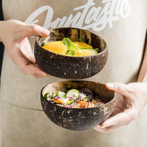 Eco-Friendly Natural Coconut Bowls