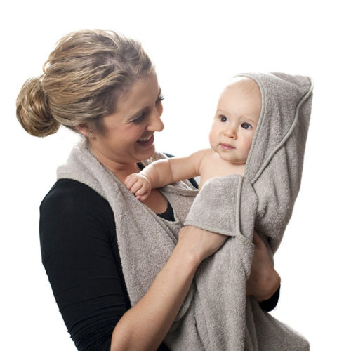 Soft Cotton Hooded Baby Towel Apron