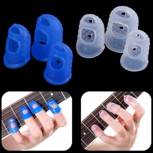 Silicone Finger Guards for Guitar (4Pcs)