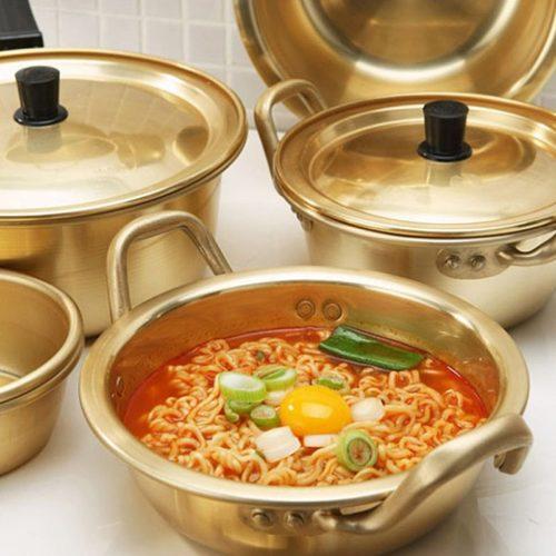 Aluminum Korean Noodles Pot