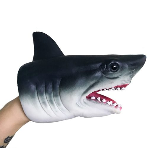 Silicone 3D Hand Shark Puppet