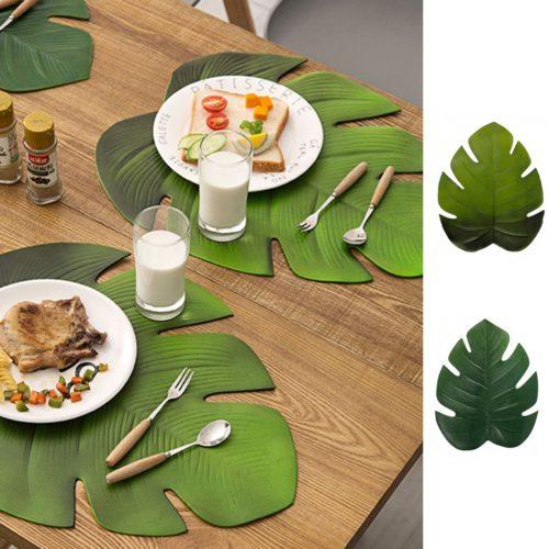 Tropical Palm Leaf Placemat
