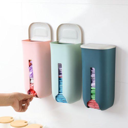 Plastic Bag Dispenser Wall Storage
