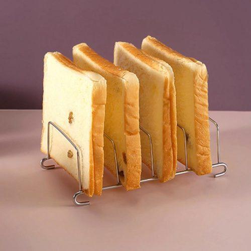 Eight-Slice Stainless Toast Rack