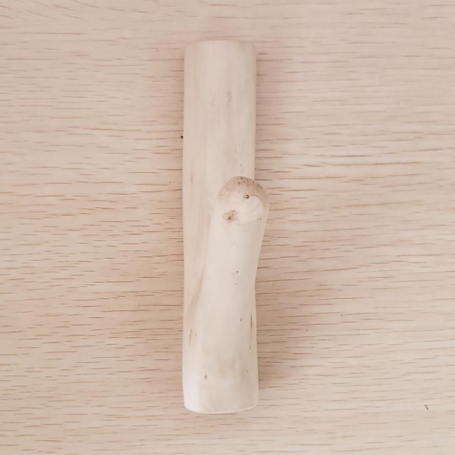 Handmade Real Wood Tree Branch Wall Hook Rustic Decorative Adhesive Wooden Coat Hooks Entryway Key Holder