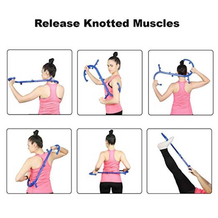 Therapeutic Hook Back Massager