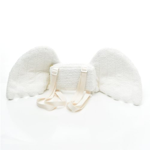 Plush Angel Wing Backpack