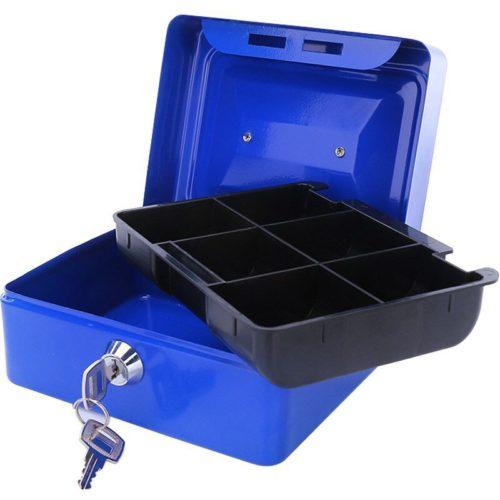 Portable Money Lock Box Storage Safe