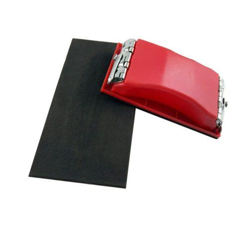 Handheld Plastic Sandpaper Holder