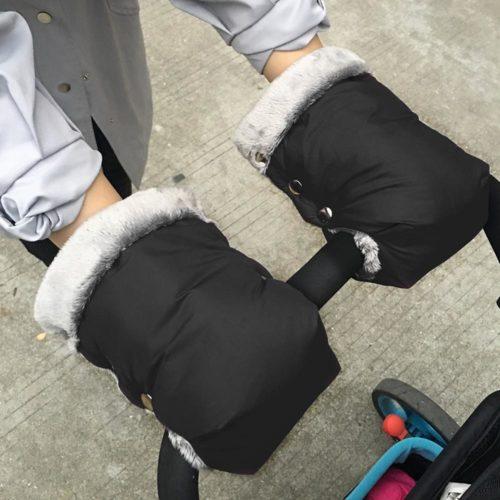 Stroller Gloves Winter Mittens