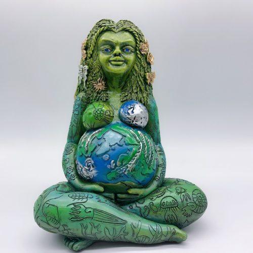 Gaia Mother Earth Statue Garden Decoration