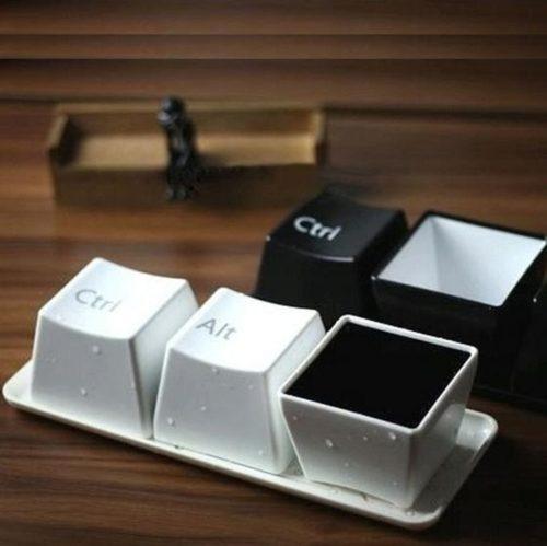 Computer Key Cups Set (3pcs)