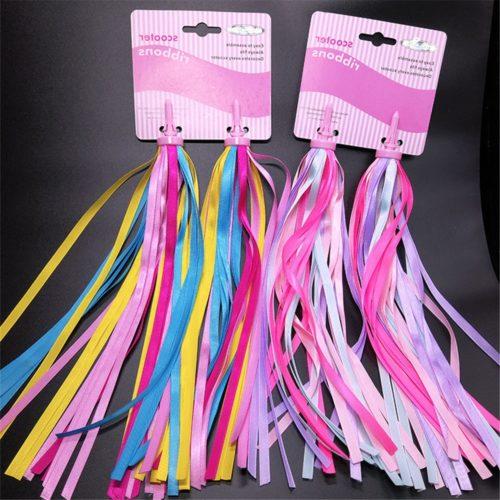 Colorful Ribbon Bike Handlebar Streamers