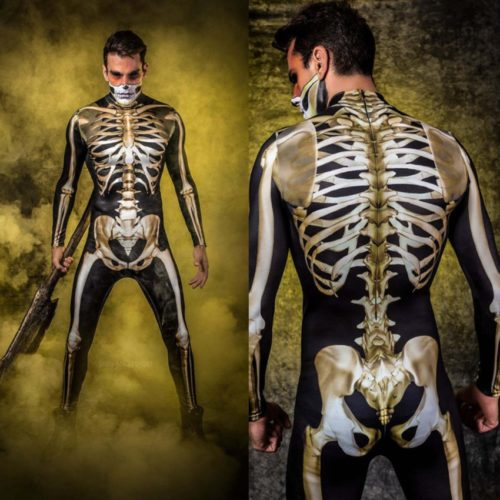 Skeleton Body Suit for Kids and Adults