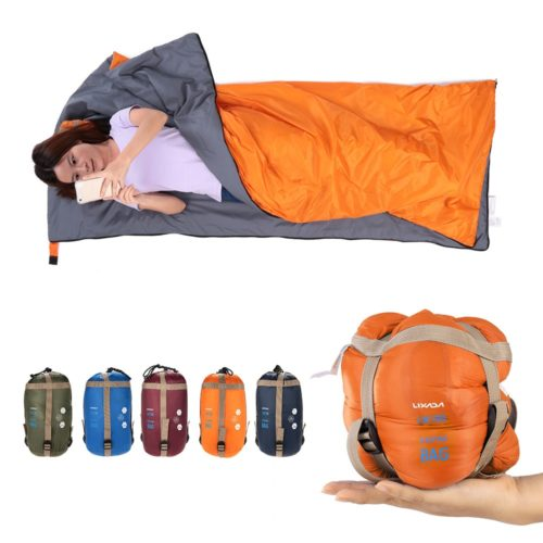 Envelope Sleeping Bag with Storage Bag