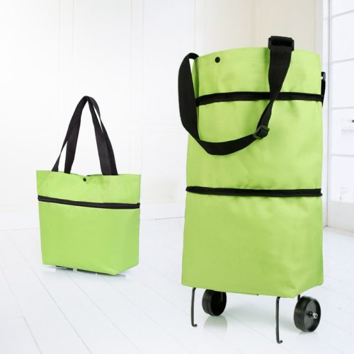 Collapsible Grocery Bag with Wheels