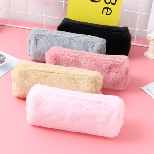 Plush Pencil Case Stationery Pouch